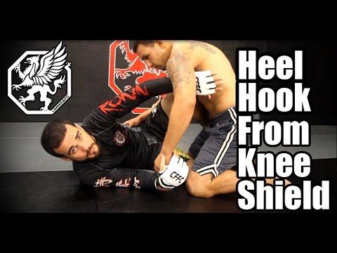 Heel Hook from knee shield - BJJ/MMA technique