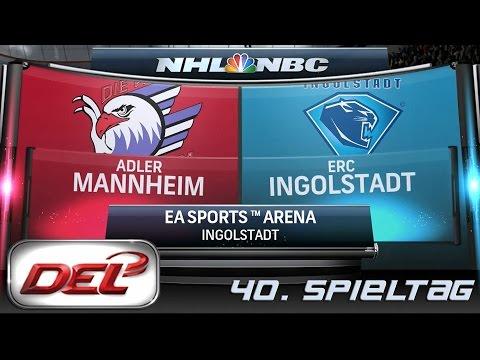 Deutsche Eishockey Liga [DEL] #040 - ERC Ingolstadt - Adler Mannheim ★ Let's Commentary NHL 15