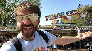 PIXARFEST at DISNEYLAND OPENING DAY LIVE!