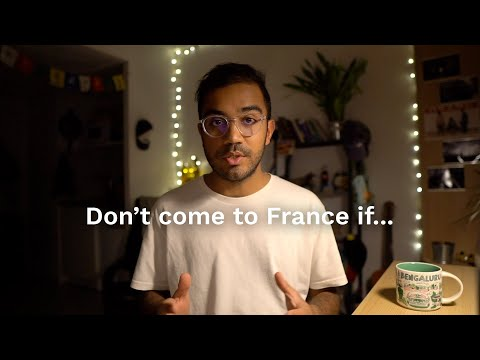 Don't come to France to study if...