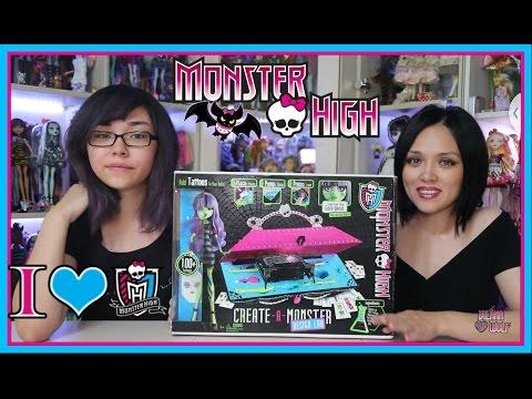 Monster High DESIGN LAB CREATE-A-MONSTER /Дизайнерская Лаборатория/ Делаем новую куклу!