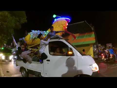 Takbiran Hari Raya IdulFitri 1439 H / 2018 M di Demak Jawa tengah