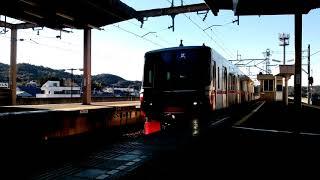 名鉄3313F(試運転) 試--レ本宿駅通過!