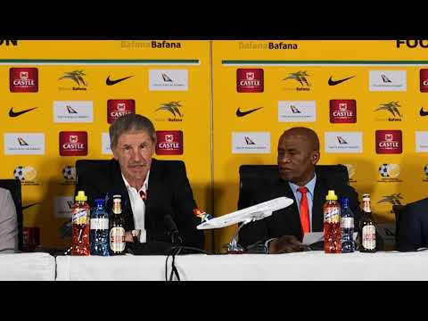 Bafana Bafana coach Stuart Baxter's press conference  05/11/2018