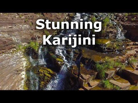 Stunning Karijini - NW Australia from Phantom 3