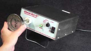 The Check-Set IV Thermometer Calibrator for the Dairy Industry