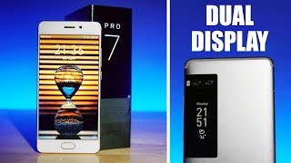 Meizu Pro 7  Dual Display | Dual Camera | P25  - Unboxing & Hands On!