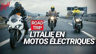 Roadtrip : L'Italie en motos électriques