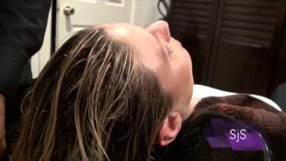"Salon Basics the ""Shampoo and Scalp Massage."""