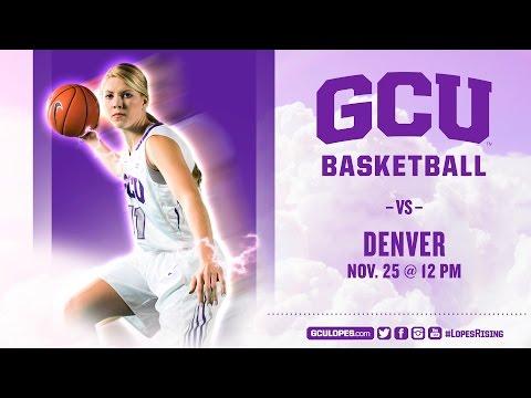 Women's Basketball vs Denver Nov 25th, 2016