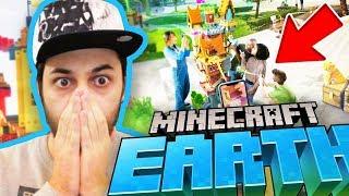 NUOVO GIOCO di MINECRAFT NELLA VITA REALE - Minecraft Earth Trailer Reaction ITA