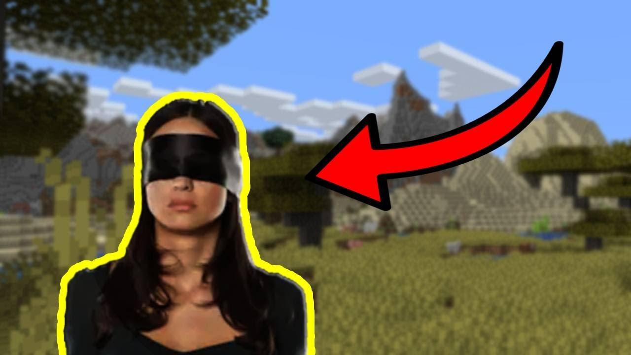 minecraft but i'm blindfolded YouTube