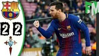Barcelona vs Celta Vigo 2-2 Hasil Tadi Malam | Full Highlights & Goals 02-12-2017