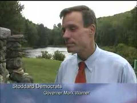 Governor Mark Warner interview at Stoddard, NH event