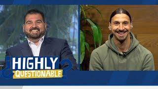 Zlatan Ibrahimović conversation on his childhood and stealing bicycles | Highly Questionable | ESPN
