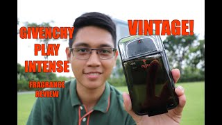 Givenchy Play Intense for Men (Vintage) | Fragrance Review