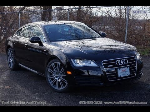 2013 audi a7 3 0t supercharged vehicle overview youtube. Black Bedroom Furniture Sets. Home Design Ideas