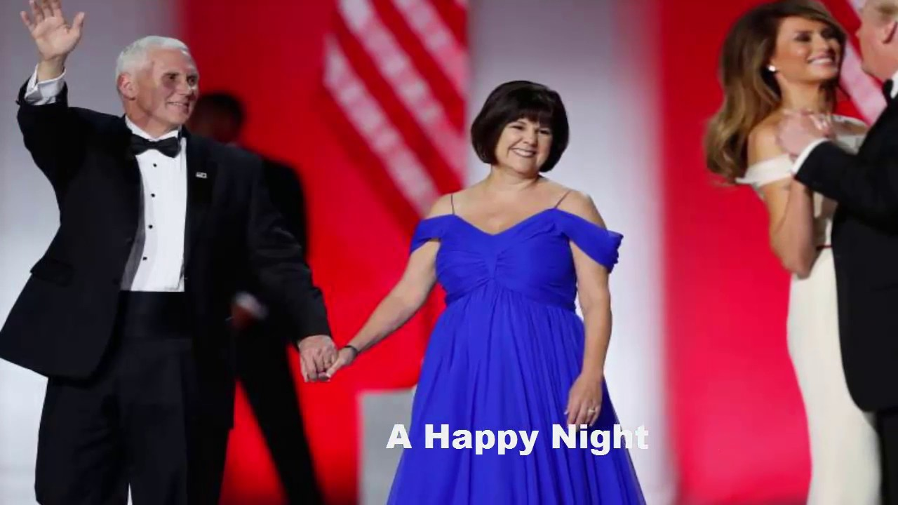 Karen Pence Inaugural Ball Dresses Gowns Top Things You Didn T Know Youtube