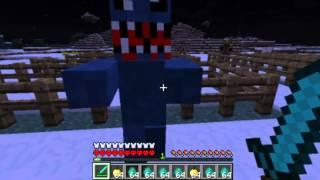 Обзор мода Minecraft - Зомби апокалипсис ! ( 7 )