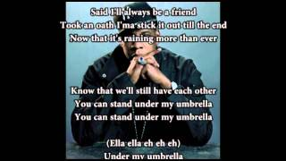 Rihanna feat Jay - Z - Umbrella with lyrics and download link