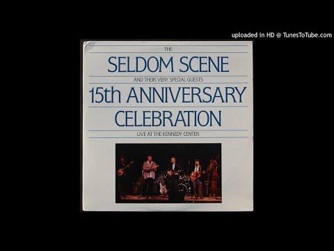 Emmylou Harris With The Seldom Scene - Wheels - 1988 Live Track - Gram Parsons