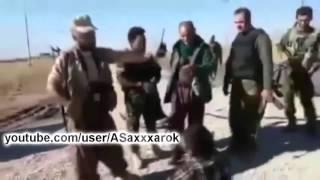 Сирия Курды взяли в плен боевика ИГИЛ ! Эксклюзив !
