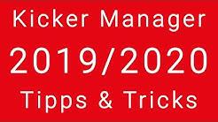 Kicker Managerspiel Saison 19/20 Interaktiv Beratung Aufstellung, Tipps und Tricks 2020