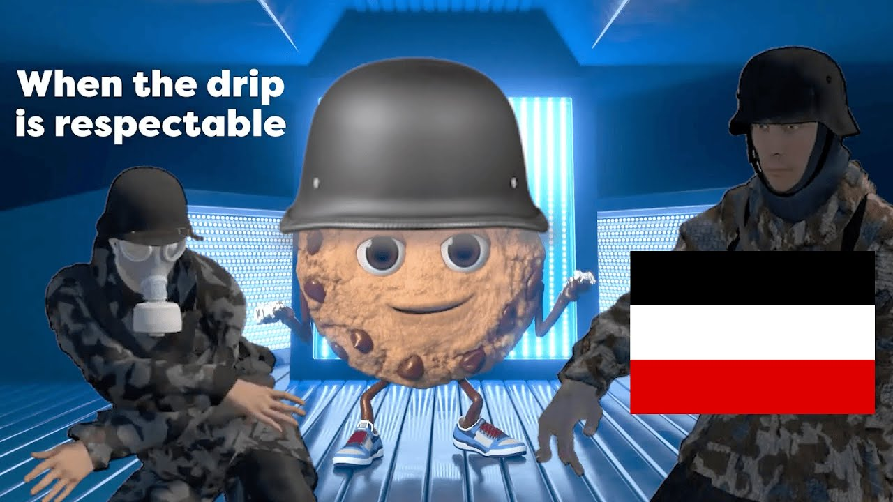 Chips Ahoy when the drip is respectable ad but it's the german edition
