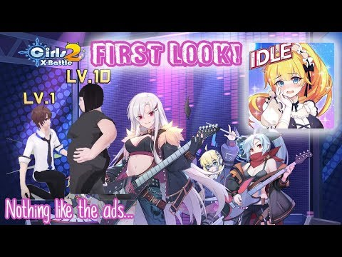 I LOVE GAMES THAT ARE NOTHING LIKE THE ADS | Girls X Battle 2 First Look