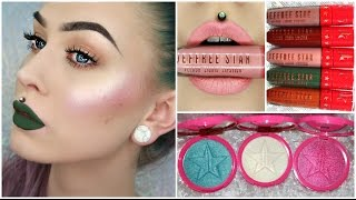 holiday liquid lipsticks skin frost swatch review jeffree star cosmetics   evelina forsell