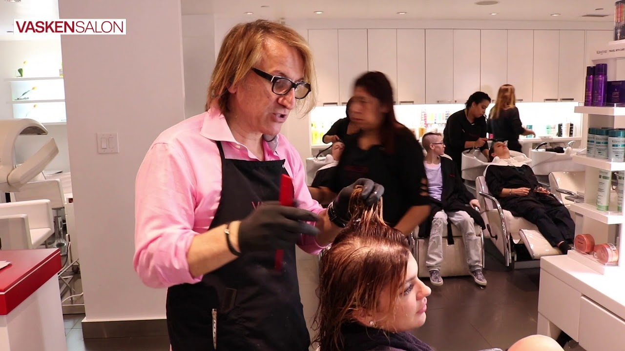 L Oreal Effasol Color Remover At Vasken Salon Youtube