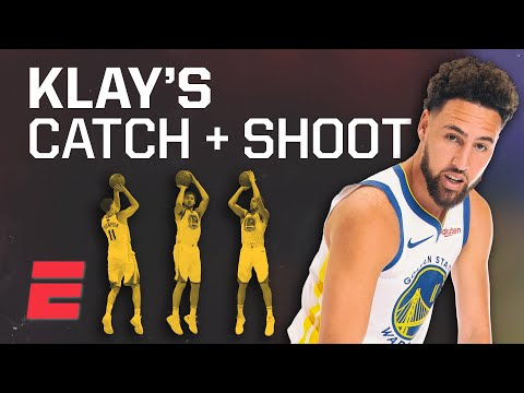 Klay Thompson is better at catch-and-shoot 3s than anyone in NBA history   Signature Shots