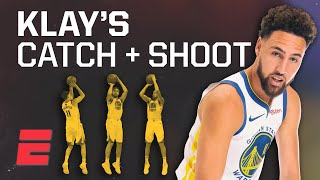 Klay Thompson is better at catch-and-shoot 3s than anyone in NBA history | Signature Shots