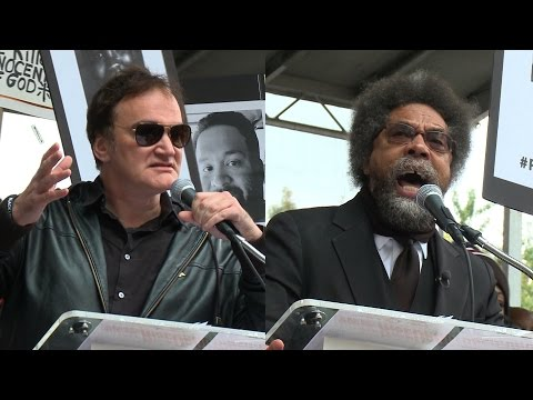 Voices of Rise Up October: Quentin Tarantino, Cornel West, Victims' Families Decry Police Violence