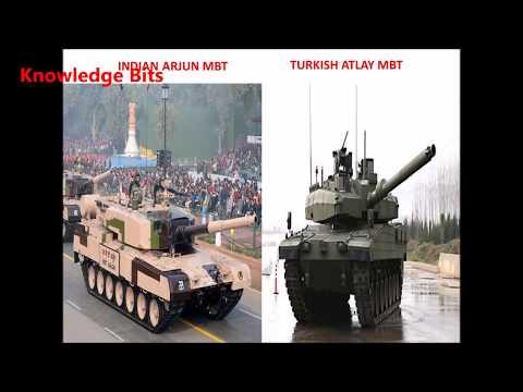 INDIAN ARJUN VS TURKISH ATLAY Main Battle TANK