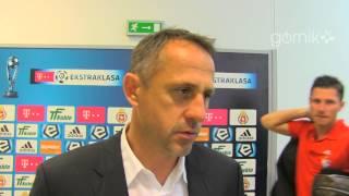 Robert Warzycha o meczu z Wisłą Kraków (24.05.2014)