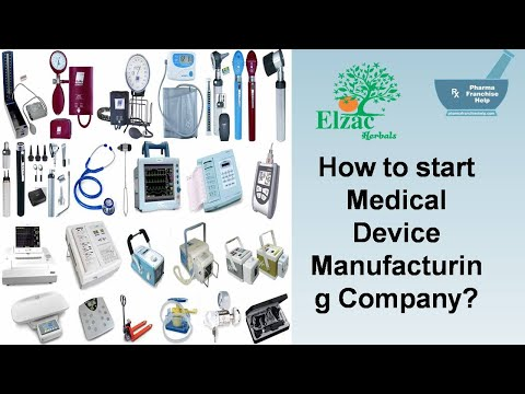 How To Start Medical Device Manufacturing Unit?