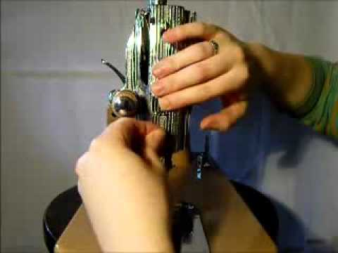 How to thread a Japane-made Class 15 Sewing Machine