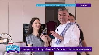 Chef Hadad gateste in bucataria SF a lui George Buhnici