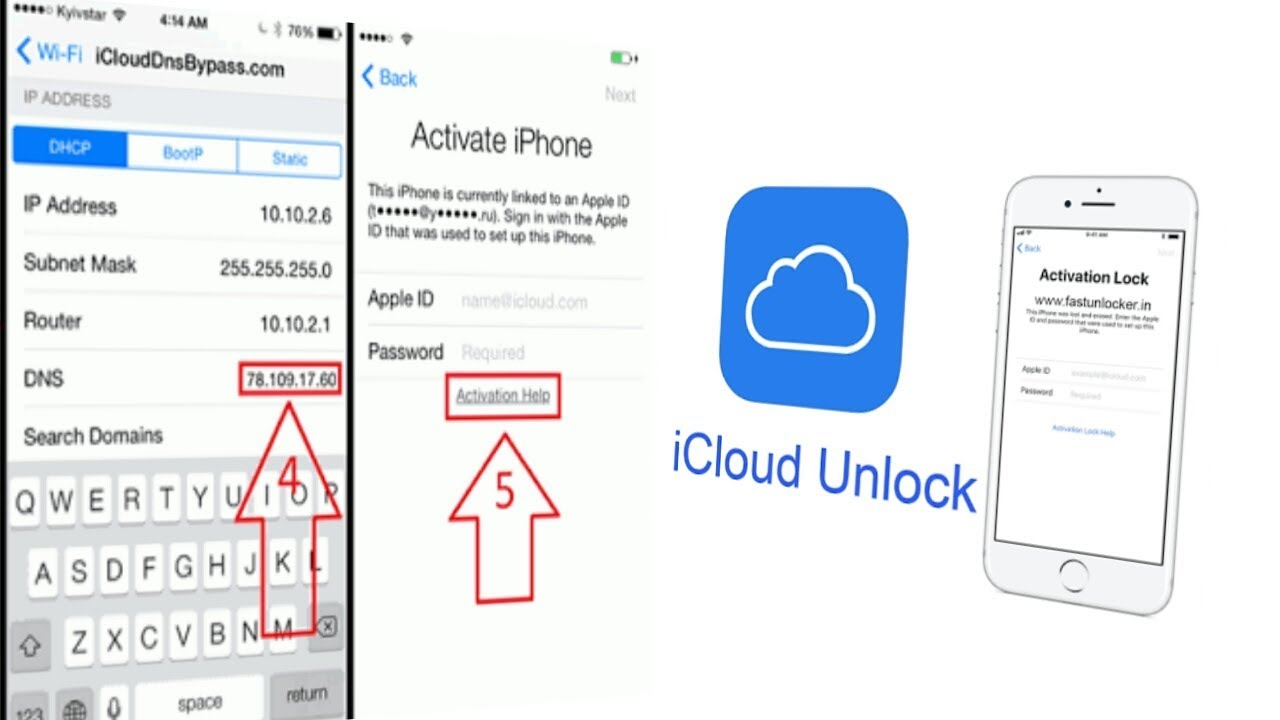 IOS(11 3 1) How To Bypass ICloud Ipad/Iphone With DNS (ihax)  Success     !!!!!!!
