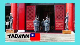 Change of the Guards at the Chiang Kai-Shek Memorial, Taipei (Taiwan)