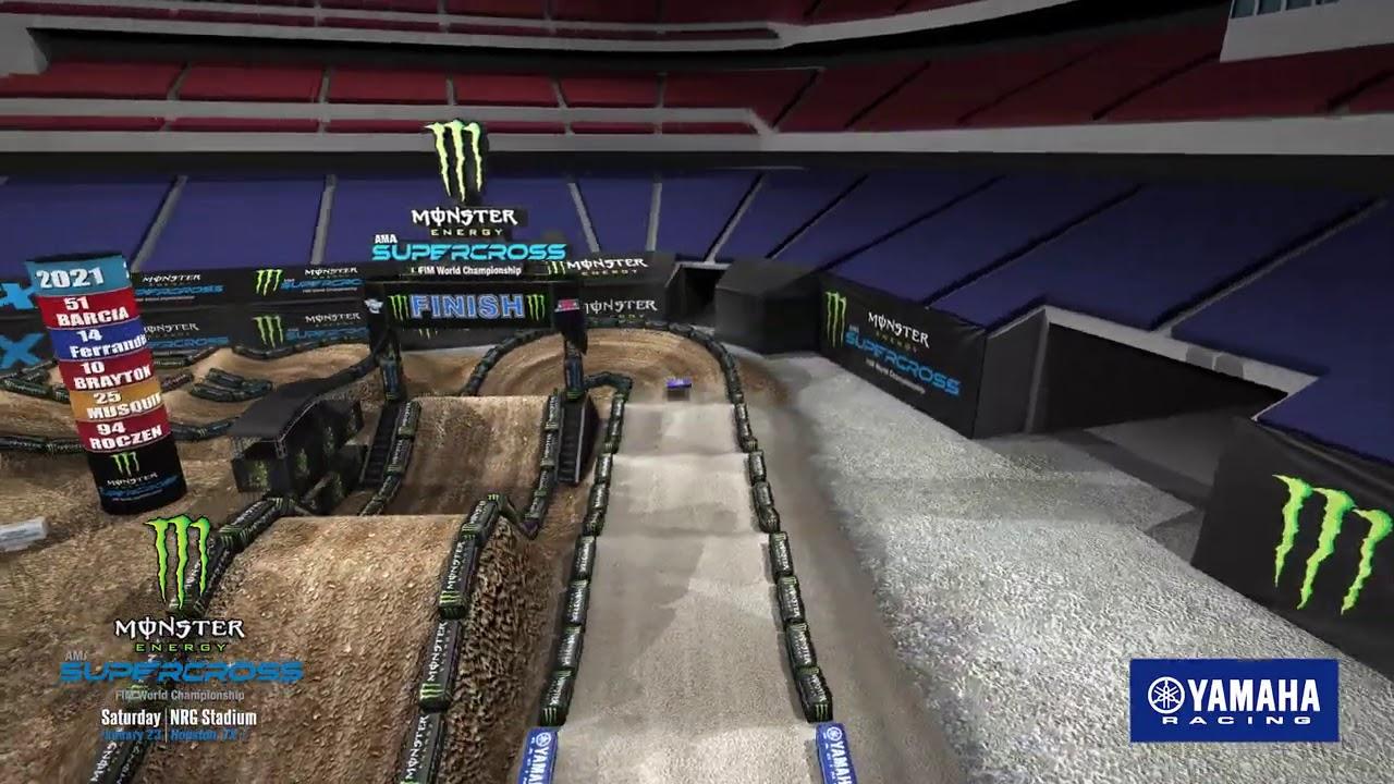 Houston Round 3 Track Map