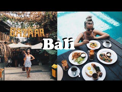 OUR BALI HONEYMOON - SHOPPING, OUR VILLA, FOOD! PART 1