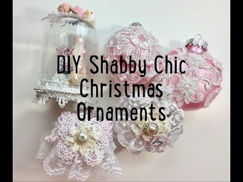 Live, DIY Christmas Ornaments & Decor/Shabby Chic Ornaments