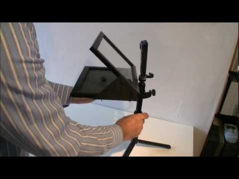 How to make a cheap Teleprompter (DIY Project)
