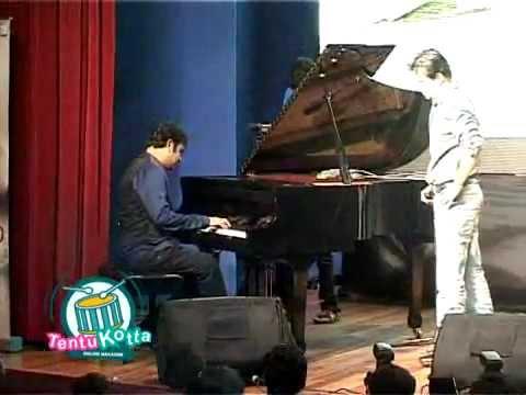 ar rahman speech and song composing in kadal audio launch-[Rahman's Fun Speech]- Tentukotta.com