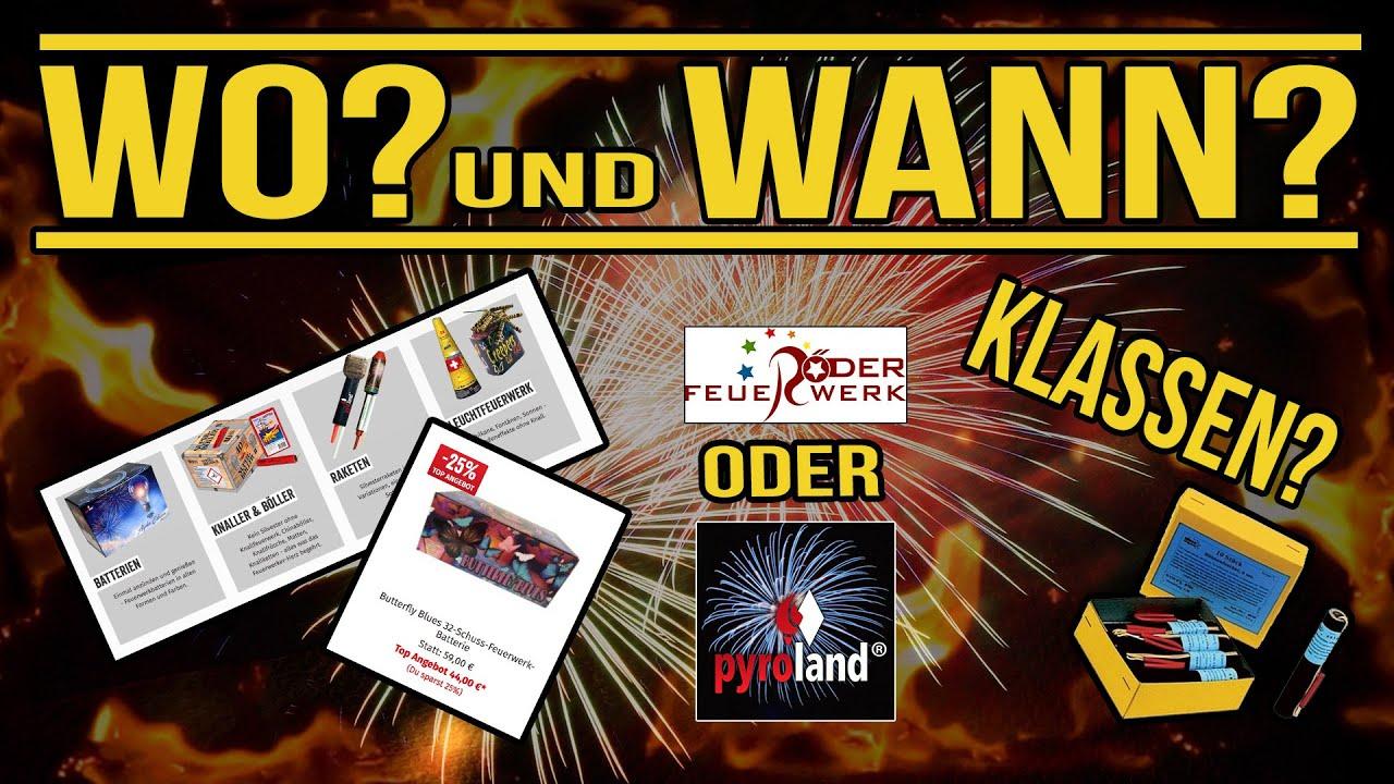 𝐖𝐨 und 𝐖𝐚𝐧𝐧 bekomme ich Feuerwerk in Deutschland? | Feuerwerk für Anfänger #1