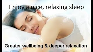 Healing/21st century meditation for deeper relaxation,  better sleep & rest and greater well-being.