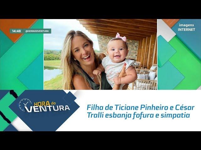 Filha de Ticiane Pinheiro e César Tralli esbanja fofura e simpatia- Bloco 02