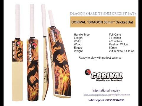 Dragon 55mm Indoor Cricket Bats Tennis Ball Bats Heavy Tennis